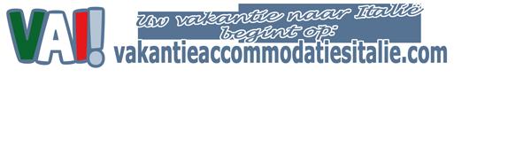 VAI! vakantie accommodaties in Italië logo